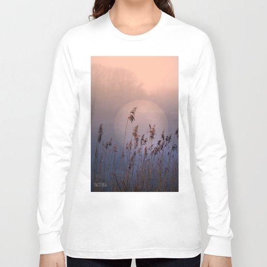 Lake with heart Long Sleeve T-shirt