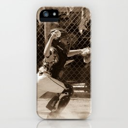 Hold Him Off iPhone Case
