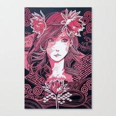 Gekka Bijin  Canvas Print