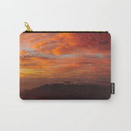 Haleakala's Colorful Sunset Carry-All Pouch