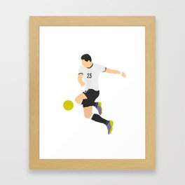 Mario Gomez Germany Print Framed Art Print