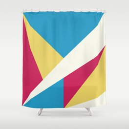 Color Abstract Shower Curtain