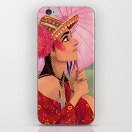 festival fashion iPhone Skin