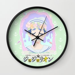 JoJolion Wall Clock
