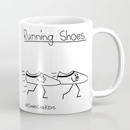 Running Shoes Coffee Mug