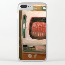 Tan Tan Clear iPhone Case