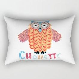 Chouette Owl Rectangular Pillow