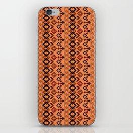 Ethnic ikat pattern.3 iPhone Skin