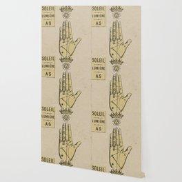 Vintage French Sun Tarot Card Wallpaper