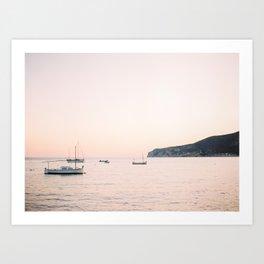Andratx sunset - Mallorca - Travel photography Art Print