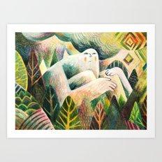 Algonquin Spirit Art Print