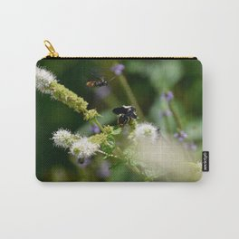 Extra Extra!! Scolia dubia a.k.a The Blue Winged Wasp Returns With Back up! Carry-All Pouch