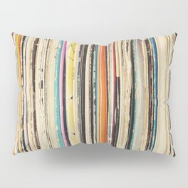 Record Collection Pillow Sham