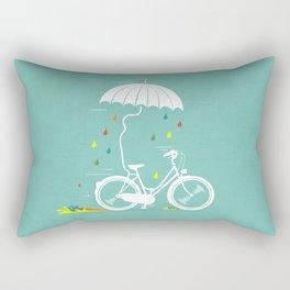 I want to ride my bike ! Rectangular Pillow