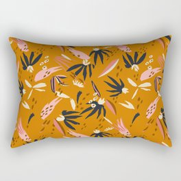 ADOBO GARDEN OCHRE Rectangular Pillow