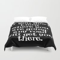 cheshire Duvet Covers featuring Cheshire Cat by Axis