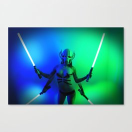 Baby Grevious Canvas Print