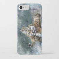 tigers iPhone & iPod Cases featuring Tigers by Julie Hoddinott