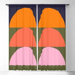 Spring- Pantone Warm color 03 Blackout Curtain