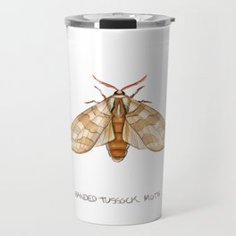 Banded Tussock Moth Travel Mug