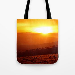 Golden African Morning Tote Bag