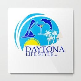 DAYTONA  Metal Print
