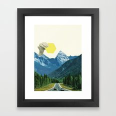 Moving Mountains Framed Art Print