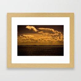 Across the Water Framed Art Print