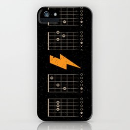 ACDC Back in Black iPhone Case