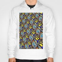 scales Hoodies featuring Scales by David  Gough