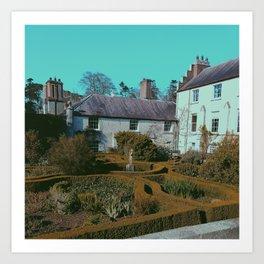 Killruddery House, Bray. Art Print