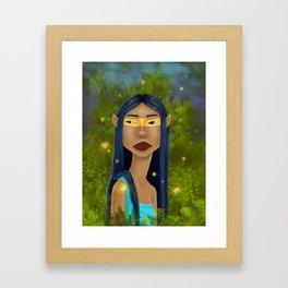 Tribal Elf Framed Art Print