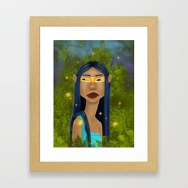 Tribal Elf Framed Art Print