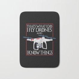 I Fly Drones Bath Mat