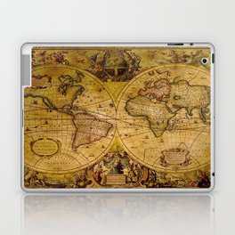 VintaGe Map Laptop & iPad Skin