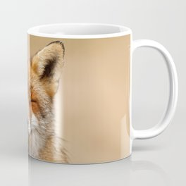 Zen Fox (Red Fox smiling) Coffee Mug