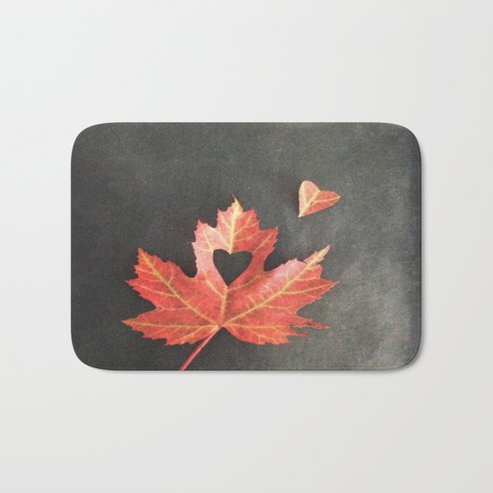 Autumn Love Bath Mat