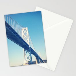 south side, bay bridge Stationery Cards
