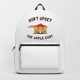 Don't Upset The Apple Cart Backpack