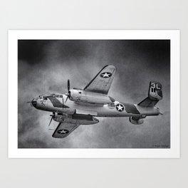 North American B-25 Mitchell Art Print