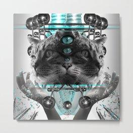 Cattus Metal Print