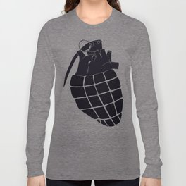 Heart Grenade II Long Sleeve T-shirt