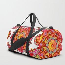 Root Chakra Mandala Duffle Bag
