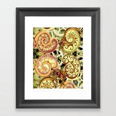 Clockwork. Framed Art Print