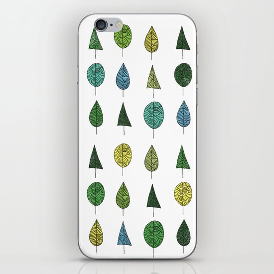 TREES MAKE A FOREST iPhone & iPod Skin