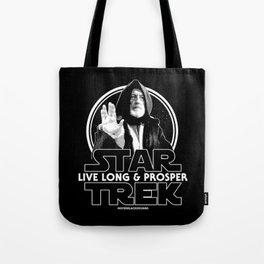 Live Long & Nerd Rage Tote Bag
