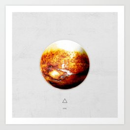 Element: Fire Art Print