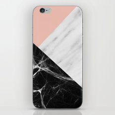 Marble Collage iPhone Skin