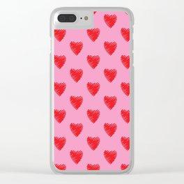 MI TONTO CORAZON Clear iPhone Case