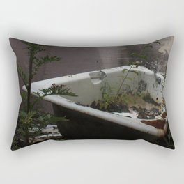 Bath Time... Rectangular Pillow